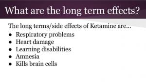 ketamine effects